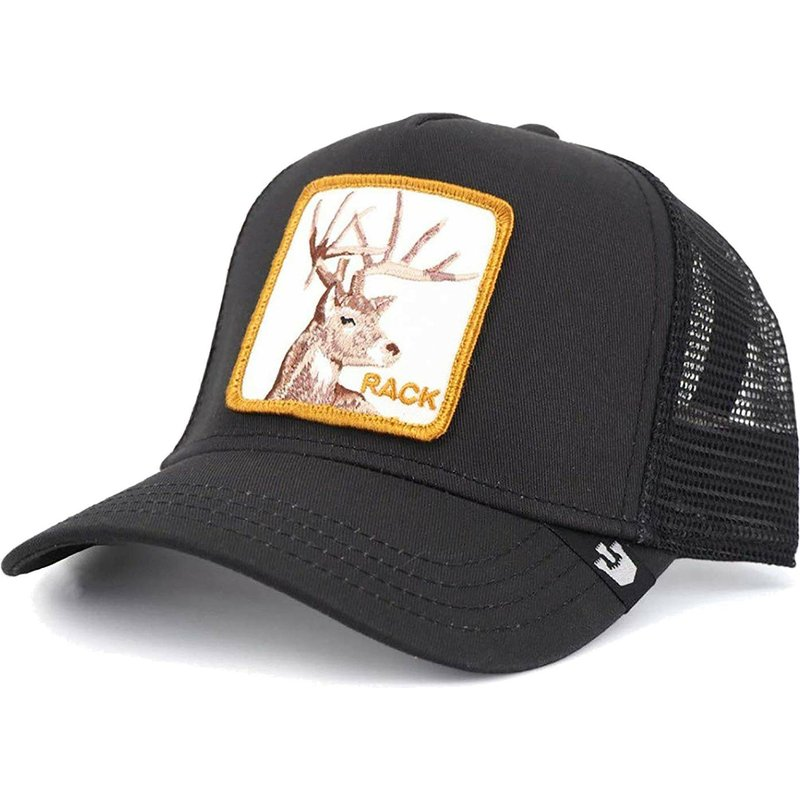 1ff0f0a68 Goorin Bros. Deer Rack It Black Trucker Hat