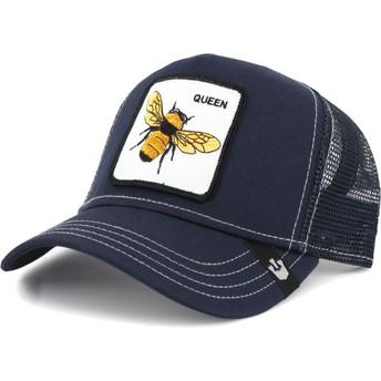Goorin Bros. Bee Fierce Navy Blue Trucker Hat