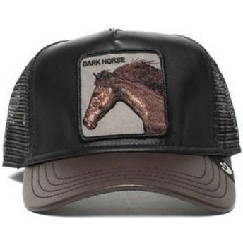 Goorin Bros. Horse Your Majesty Black and Brown Trucker Hat