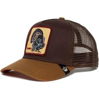 Gorra trucker marrón pavo Wild Turkey de Goorin Bros.