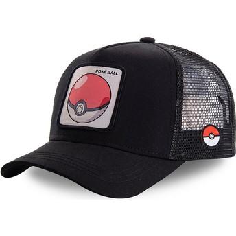 Gorra trucker negra Poké Ball POK1 Pokémon de Capslab