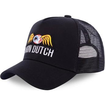 Gorra trucker negra EYEPAT3 de Von Dutch