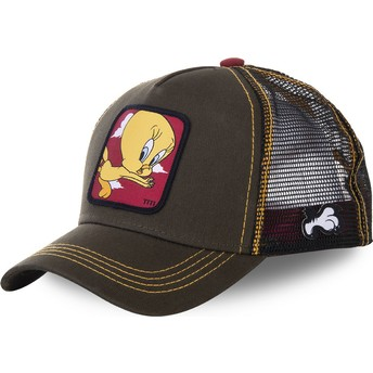 Gorra trucker verde Piolín TIT2 Looney Tunes de Capslab