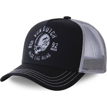 Von Dutch HELBLA Black and Grey Trucker Hat