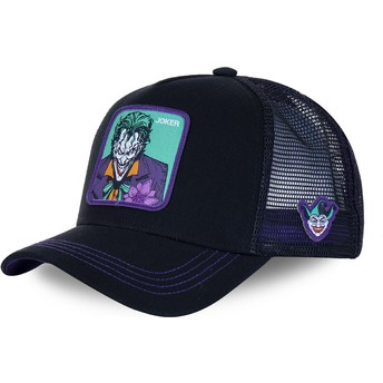 Capslab Joker JKR2 DC Comics Black and Purple Trucker Hat