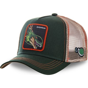 Capslab Shenron SHEN Dragon Ball Green Trucker Hat
