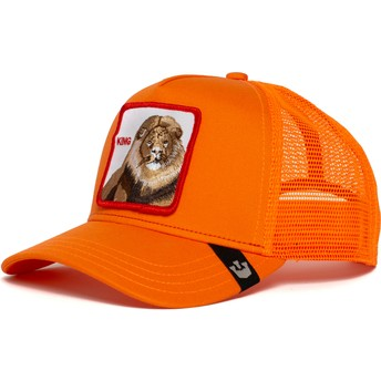 Goorin Bros. Lion Strong King Orange Trucker Hat