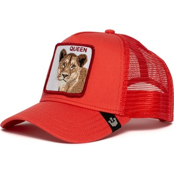Goorin Bros. Lioness Strong Queen Red Trucker Hat