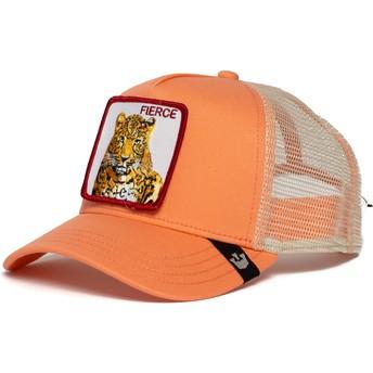 Gorra trucker rosa tigre Fierce Tiger de Goorin Bros.