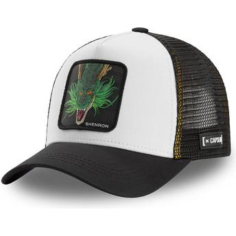 Capslab Shenron SHEN2 Dragon Ball White and Black Trucker Hat
