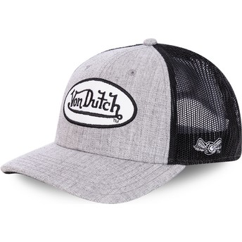 Von Dutch TERRY Grey and Black Trucker Hat
