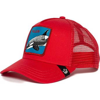 Goorin Bros. Killer Whale Red Trucker Hat