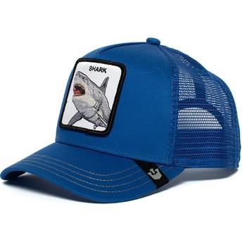 Goorin Bros. Shark Chomp Chomp Blue Trucker Hat