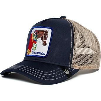 Goorin Bros. Horse Champion Navy Blue Trucker Hat