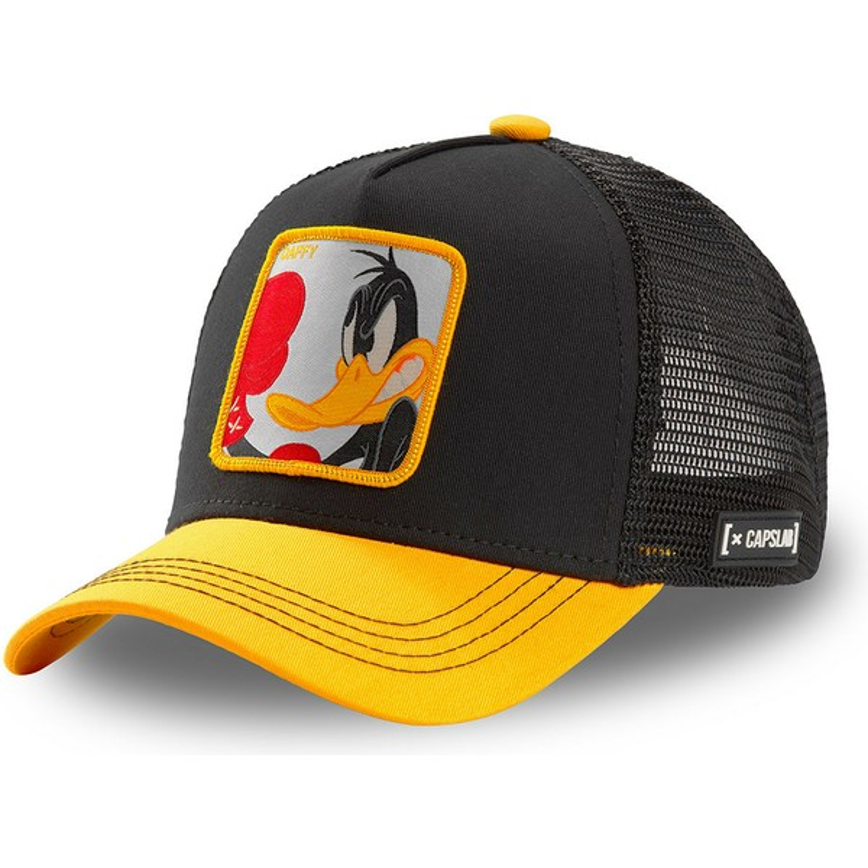 Capslab Daffy Duck Trucker Cap Looney Tunes