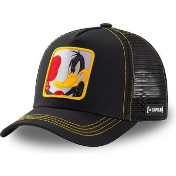 Gorra trucker negra Pato Lucas LOO DUK2 Looney Tunes de Capslab