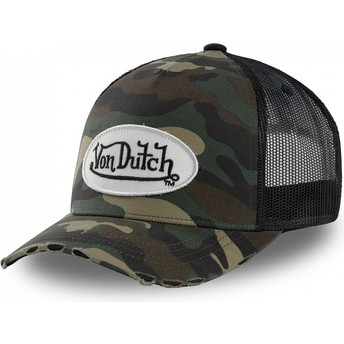 Von Dutch CAMO05 Camouflage Trucker Hat