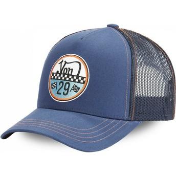 Gorra trucker azul ADAM BLU de Von Dutch