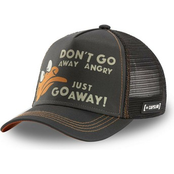 Capslab Daffy Duck AFF1 Looney Tunes Black Trucker Hat
