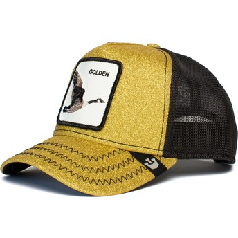 Goorin Bros. Goose Golden Egg Golden and Black Trucker Hat