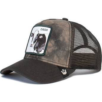 Goorin Bros. Cow Make That Money Black Trucker Hat