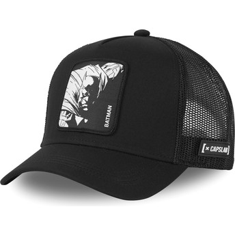 Capslab Batman BAT1 DC Comics Black Trucker Hat