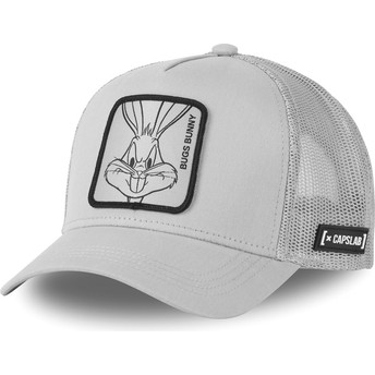 Gorra trucker gris Bugs Bunny LOO4 BUG1 Looney Tunes de Capslab