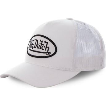 Von Dutch COL WHI White Trucker Hat