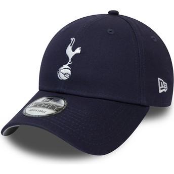 Gorra curva azul marino ajustable 9FORTY Essential de Tottenham Hotspur Football Club de New Era