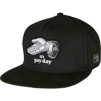 Cayler & Sons Flat Brim WL Pay Me Black Snapback Cap