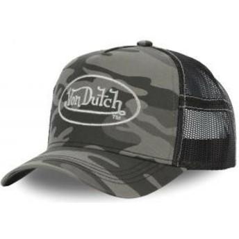 Gorra trucker camuflaje CAM SIL de Von Dutch