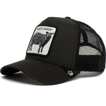 Goorin Bros. Sheep Be Reckless Black Trucker Hat