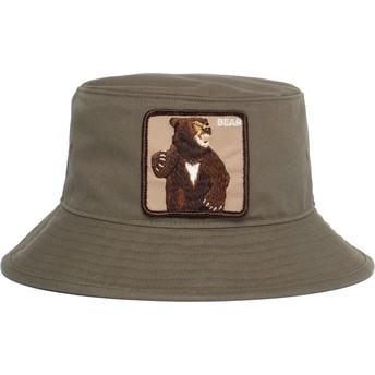Bucket verde oso Fighting Bear de Goorin Bros.