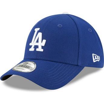 Gorra curva azul ajustable 9FORTY The League de Los Angeles Dodgers MLB de New Era