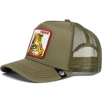 Goorin Bros. Jaguar Fierce Feroucious The Farm Green Trucker Hat