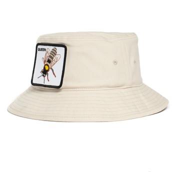 Bucket blanco abeja Queen Bee-Witched The Farm de Goorin Bros.