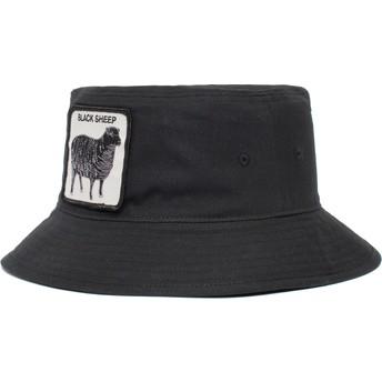Goorin Bros. Black Sheep Baaad Guy The Farm Black Bucket Hat