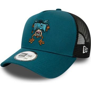 Gorra trucker azul Character A Frame Diablo de Tasmania Looney Tunes de New Era