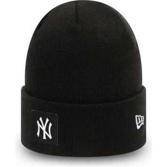 Gorro negro Team Cuff de New York Yankees MLB de New Era