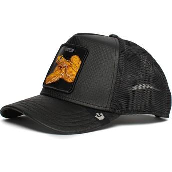 Goorin Bros. Snake Night Viper The Farm Black Trucker Hat
