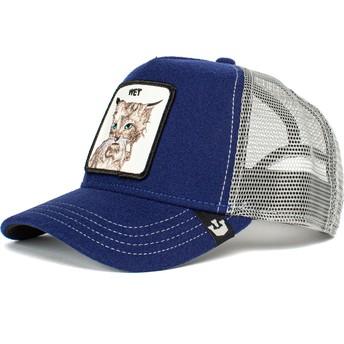 Goorin Bros. Wet Clean Cat The Farm Blue Trucker Hat