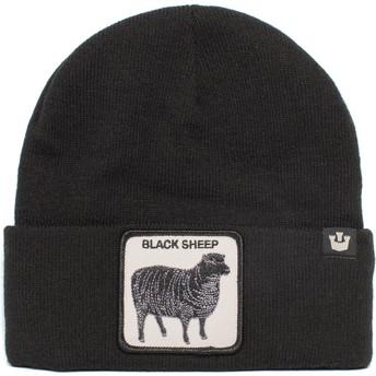 Gorro negro oveja Sheep For Brains The Farm de Goorin Bros.