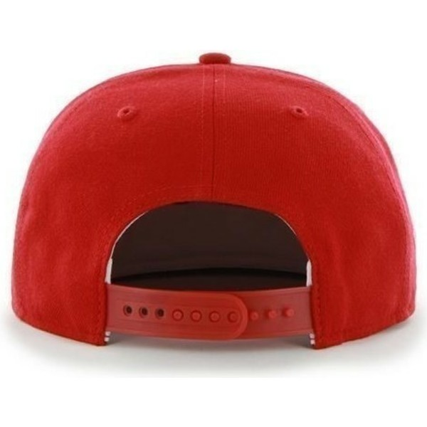 47-brand-flat-brim-philadelphia-phillies-mlb-sure-shot-red-snapback-cap