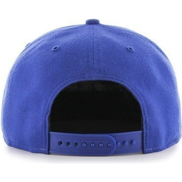 47-brand-flat-brim-los-angeles-dodgers-mlb-sure-shot-blue-and-grey-snapback-cap