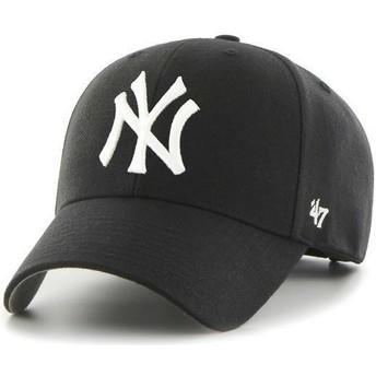 Gorra curva negra de New York Yankees MLB de 47 Brand