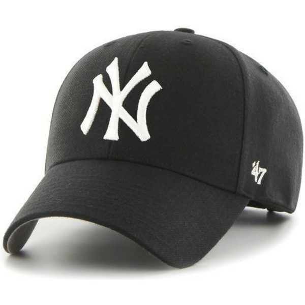 47-brand-curved-brim-new-york-yankees-mlb-black-cap