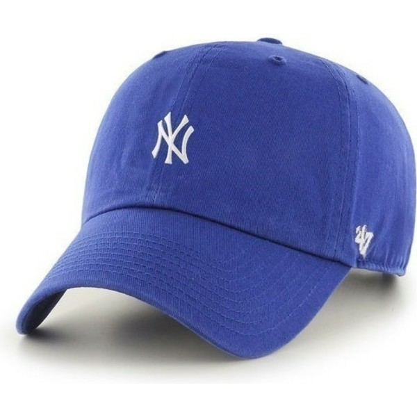 47-brand-curved-brim-new-york-yankees-mlb-clean-up-blue-cap