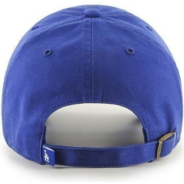 47-brand-curved-brim-los-angeles-dodgers-mlb-clean-up-blue-cap