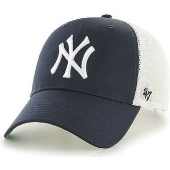 47 Brand MLB New York Yankees Navy Blue Trucker Hat