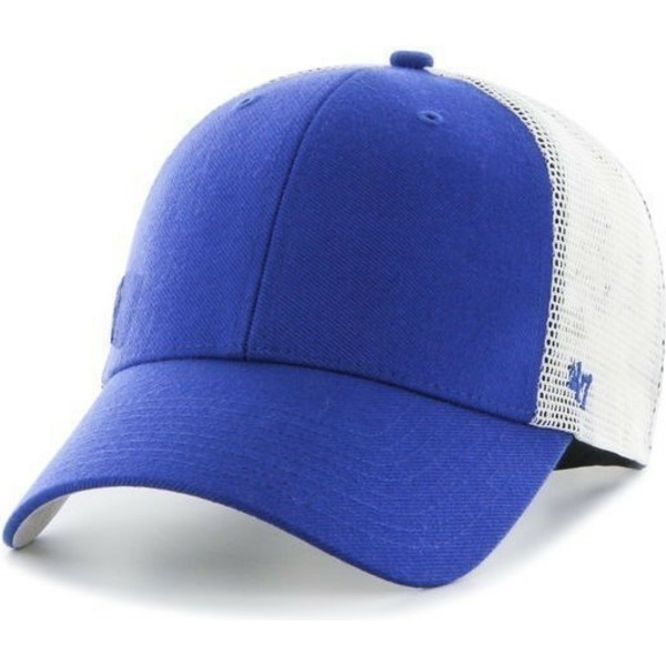 47-brand-small-logo-mlb-los-angeles-dodgers-blue-trucker-hat